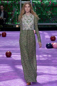 Sfilata Christian Dior Parigi - Alta Moda Autunno-Inverno 2015-16 - Vogue