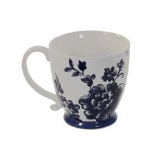 Kensington Perla Indigo Footed Mug