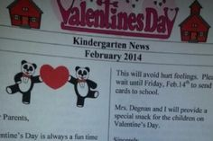 What This Teacher's Alleged Valentine's Day Letter to Parents Says Has People Calling It 'Pathetic' and Too Politically Correct