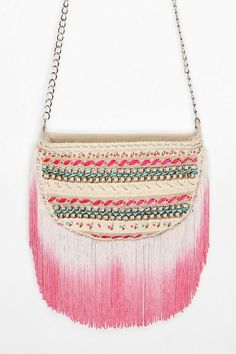 cd509455f4bd Shop Kimchi Blue Beaded Pop Fringe Crossbody Bag at Urban Outfitters today.  We carry all the latest styles