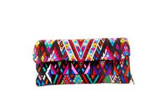 The ChiChi wallet has unique embroidery that was recycled from a Mayan blouse from Chichicastenango, Guatemala. Handmade by Mayan artisans, this wallet is one-of-a-kind. The design has authentic tribal patterns and multiple compartments inside. • Snap Closure • Zipper Storage Area • Multiple Card Slots • Accordion Style Approximate Dimension: 9 inches long x 4.5 [...]