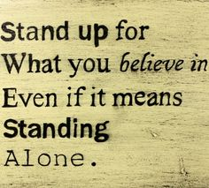Stand Up For What You Believe In | Emilio Cogliani