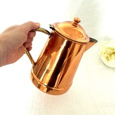 A personal favorite from my Etsy shop https://www.etsy.com/ca/listing/250269984/copper-kettle-made-in-portugal-brass