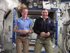 The six-member Expedition 37 crew is keeping busy with science experiments and maintenance work while it waits for three more crew members