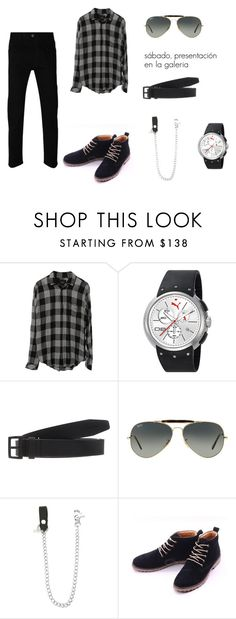 Sin título #99 by laura-juvera on Polyvore featuring Gucci, Puma, Ray-Ban, Dsquared2, men's fashion and menswear