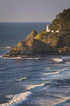 Heceta Head Lighthouse along the Oregon Coast, USA. © Brian Jannsen Photography