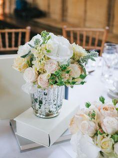 #books, #centerpiece  Photography: Stephanie Swann Weddings - stephanieswannweddings.co.uk  Read More: http://www.stylemepretty.com/2014/04/18/classic-english-wedding-at-the-bodleian-library/