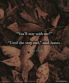 50 Saddest Lines From Literature That Will Melt Even The Coldest Of Hearts