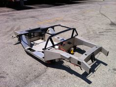 Holy Wiegert! There's A Brand New Vector Chassis On eBay For Just $68K