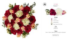 Flowers by Number, floral recipe