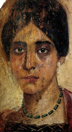 About 900 mummy portraits are known at present. The majority were found in the necropoleis of Faiyum. Due to the hot dry Egyptian climate, the paintings are frequently very well preserved, often retaining their brilliant colours seemingly unfaded by time. Portraiture, Encaustic Art, Egyptian Art, Art, Ancient Art, Portrait, Art History, Portrait Art, Ancient Paintings