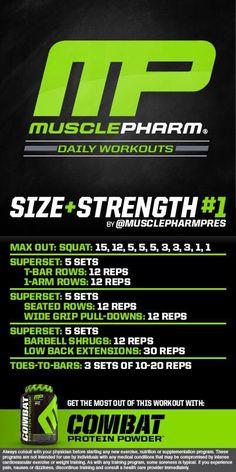 Size + strength #1
