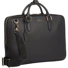Smythson Burlington Extra-Slim Briefcase