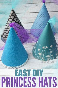 These DIY Princess Hats are easy to make and perfect for any princess! You can…