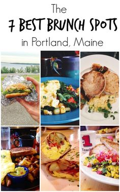 The 7 Best Brunch Spots in Portland, Maine -- A local's guide to the best breakfast restaurants in the Port City that are anything but touristy.   /sinfulnutrition/ http://www.sinfulnutrition.com