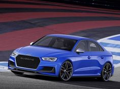 Behold the new A3 clubsport quattro concept, a hotted-up version of the 2015 Audi A3 sedan