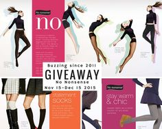 Get ready. Find out how to win one of 10 legging and sock sets. Warm Socks, Giveaways