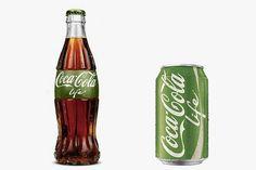 Coca-Cola Life, made with natural sugars