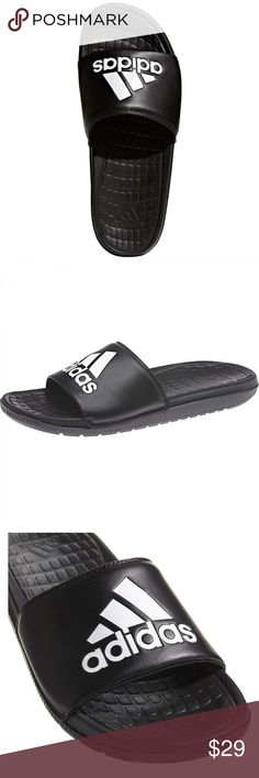 d1a900ab12b99 men s sandals · adidas Men s voloomix Slides CP9446 Description of adidas  Men s voloomix Slides Bathing Shoe - core black