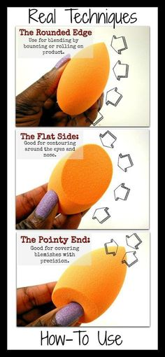 How To Use The Real Techniques Sponge