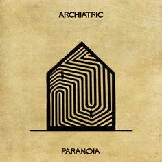 Federico Babina: Οι ψυχικές ασθένειες, στη «γλώσσα» της αρχιτεκτονικής    Ο Federico Babina είναι Ιταλός εικονογράφος. Στην τελευταία σ...