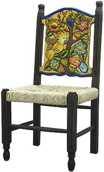 299 00 This Hand Made Birds Flowers Chair Was Created By The Perla Furniture