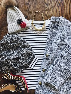 how to style your cardigan, outfit ideas, winter fashion, winter wardrobe, how to style your winter clothes, tassel necklaces, what to wear during the winter, how to style your tassel necklaces, outfit of the day, simple outfit, outfit ideas, outfit goals, fashion goals, how to style a striped shirt, how to style a striped top, sweater hats, winter accessories
