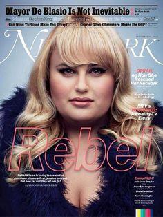 REBEL WILSON COVERS NEW YORK MAGAZINE
