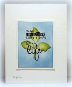 CC469 A way of Life by Biggan - Cards and Paper Crafts at Splitcoaststampers