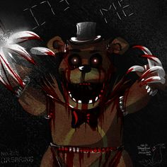 five nights at feddys | Pokemon, in the style of Five Nights at Freddy's