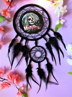 Check out this item in my Etsy shop https://www.etsy.com/listing/614965073/dreamcatcher-vampire-girl