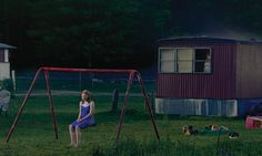 recently fallen in love with the work of american photographer gregory crewdson. nearly all of his work consists of elaborate cinema-like staging. always analogue. (http://theamericanreader.com/cms/wp-content/uploads/2012/11/trailer_detail.jpg)