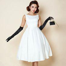 Vestido pin up blanco