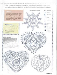 Crochê Tricô: Gráficos/Receitas