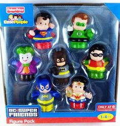 DC Super Friends Fisher-Price Little People