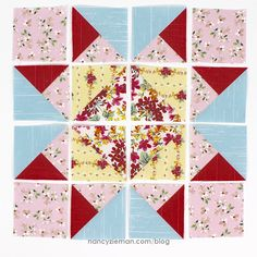 January Block of the Month- Star of Hope - No-Hassle Triangles by Sewing With Nancy Zieman