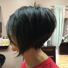 Posh haircut done by Kimmy at Modern Tekniques in Shrewsbury – friseur Cut My Hair, Love Hair, Great Hair, Edgy Short Hair, Short Hair Cuts, Short Hair Styles, Modern Bob Hairstyles, Hairstyles Haircuts, Beckham Hair