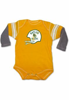 Product: Baylor University Bears Football Infant Bodysuit
