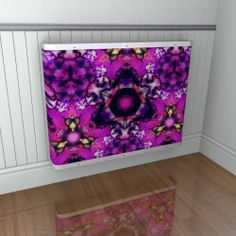 Another YOYO radiator cover pink option from the Emma Gillett design range