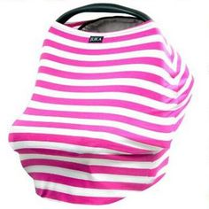 Baby Car Seat Cover Canopy and Nursing Cover Multi-Use Stretchy 3 in 1 Gift