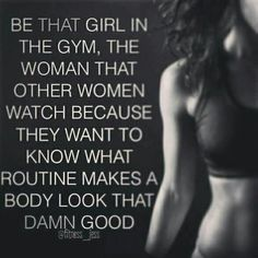 I don't know about damn good....but getting good. Hard work and eating like you care about yourself!