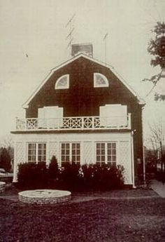 The Amityville Horror House (The real one) 108 Ocean Ave...Note this address is not used now, but it will get you close enough to find it on Google Maps. NtheDoghouse