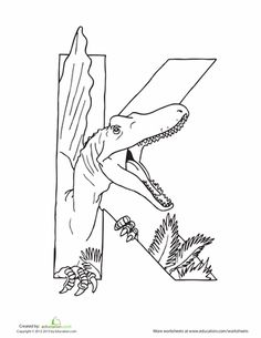 Let's hear a roar for the ABCs! This series of dino-shaped alphabet letters and dinosaur coloring pages is the perfect way to get kids excited about learning. These pages can also be used as classroom decoration