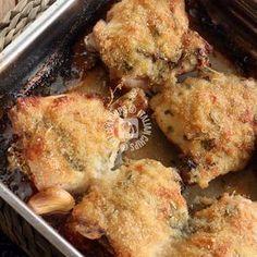 Chicken With Parmesan-Pollo Al Parmigiano Chicken with Parmesan - Pollo Chicken, Fried Chicken, Meat Recipes, Chicken Recipes, Cooking Recipes, My Favorite Food, Favorite Recipes, Italy Food, Home Food