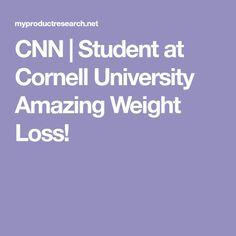 CNN   Student at Cornell University Amazing Weight Loss! Vaseline Beauty Tips, Organic Apple Cider Vinegar, Cornell University, Diet Drinks, How To Make Tea, Energy Level, Natural Medicine, Weight Management, Health Remedies