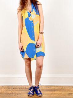 Ilana Kohn Eibel Dress - Jigsaw Print