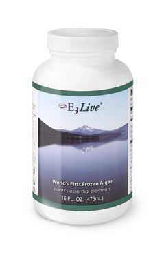 E3Live Original (16 oz ) - A fresh-frozen, organic favorite!  Nutritionally, E3Live provides more than 65 vitamins, minerals, amino acids & essential fatty acids and has more biologically active chlorophyll than any known food. It is the most nutrient dense food known to mankind.  $31.95 per 16 oz. bottle (but save if you order 6+ bottles on www.e3live.com).   Also comes in an 8 oz size.  #e3live