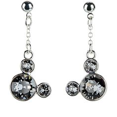 Mickey Mouse Icon Earrings - Gray | Disney Store