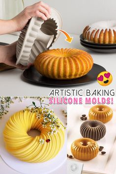 Creative Desserts, Cute Desserts, Creative Food, Delicious Desserts, Yummy Food, Food Cakes, Cupcake Cakes, Cupcakes, Cake Pops