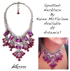 Spotted: Necklace By Karen McFarlane Available At Artemis Fashion Jewellery!